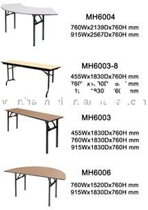 Folding Rectangular Banquet hotel table MH6003