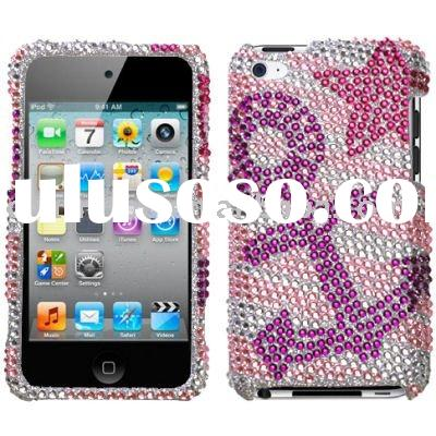 For iPod Touch 4G Rhinestone Cell Phone Cases