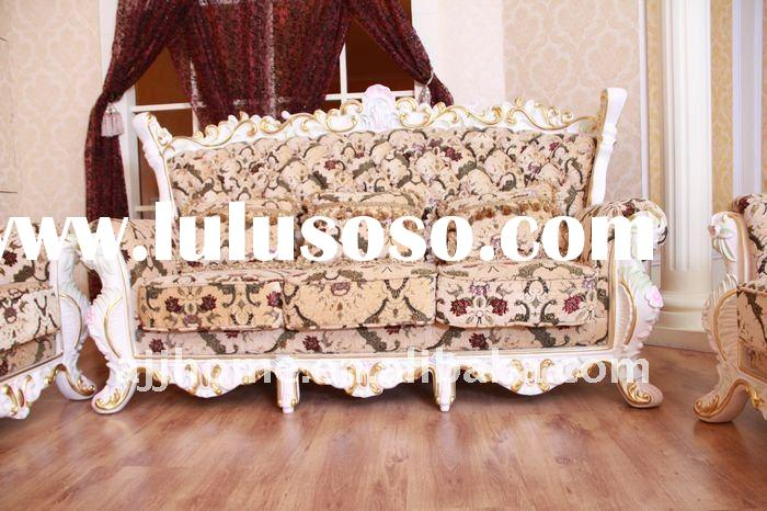 French style fabric chesterfield sofa CV96