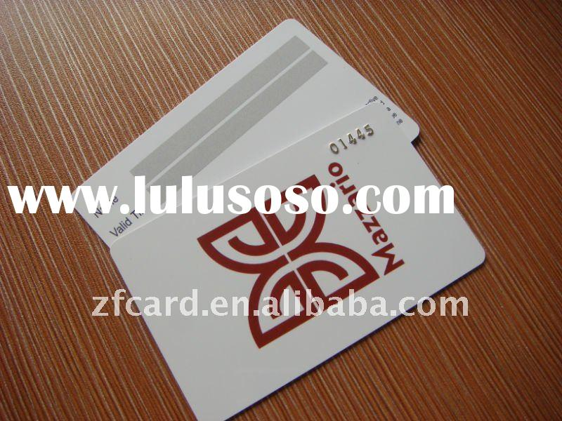 Full Color Offset Printing PVC Card