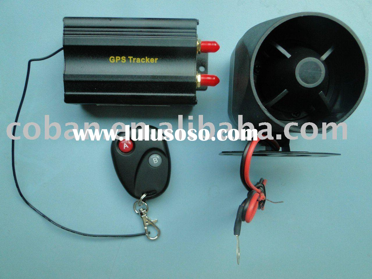GPS Car Tracker with Remote Control and Immobilizer