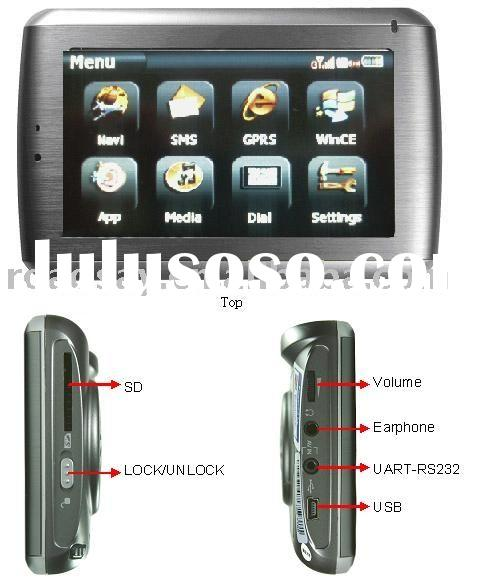 GPS Mobile Dispatch Terminal MDT100(vehicle tracking system/car tracker/connected PND,GPS navigator