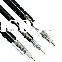 Good quality single core RG59 coaxial cable with aluminum braiding