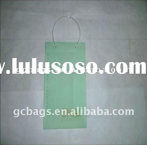 Green small pp shampoo packing bag