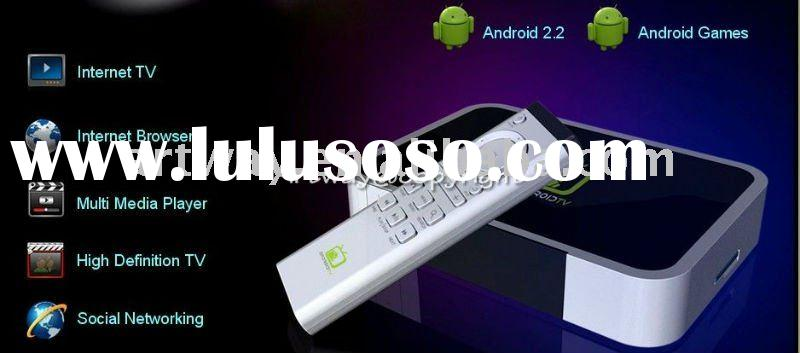 HD IPTV Set Top Box STB Player Web Browse function google tv Android 2.2 OS