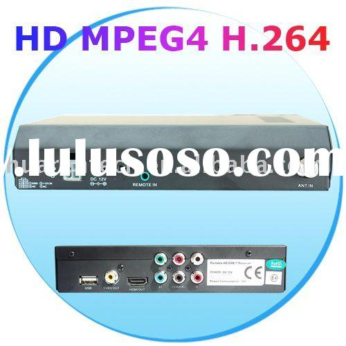 HD MPEG4 H.264 DVB-T Set Top Box Receiver for Car Using & CVBS & USB & HDMI & Compon