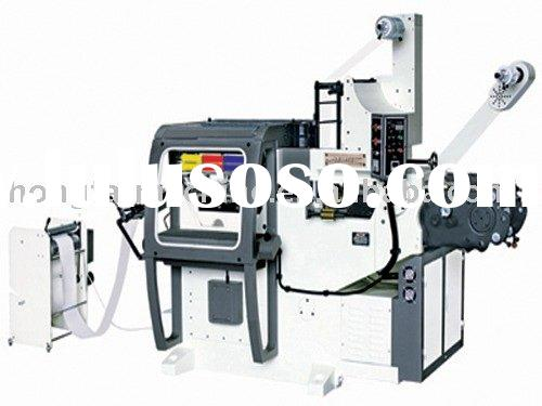 HFT-3045SCTV flatbed letterpress label printing machine