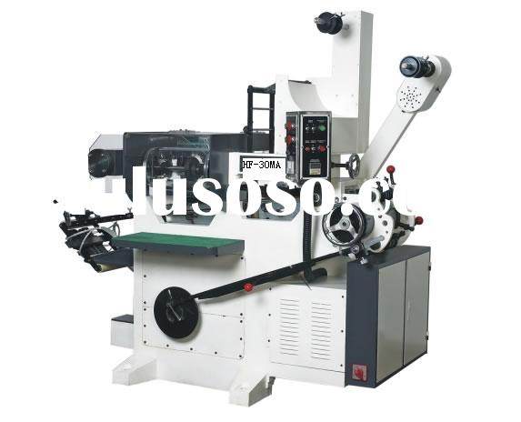 HFT-30 Flat bed letterpress label printing machine