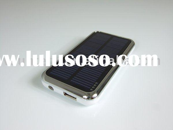 High Capacity Solar Charger Battery for PC Laptop + Mobile Phone