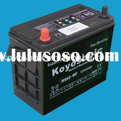 High Quality 12V45AH Starting MF Lead Calcium Acid Battery for Car/Auto/Vehicle
