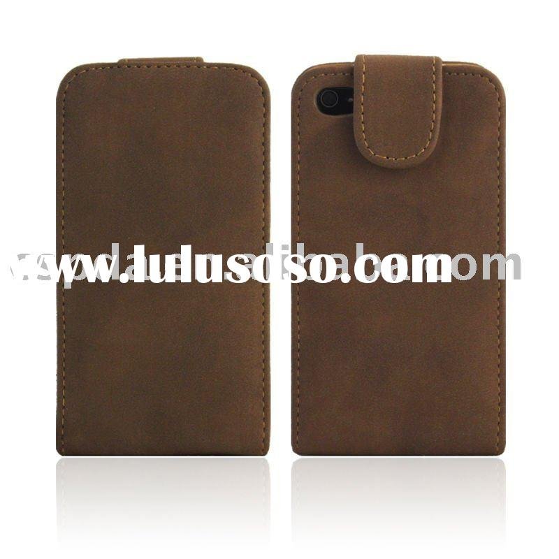 High Quality LEATHER CASE COVER POUCH FOR APPLE IPHONE 4 4G
