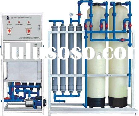 High capacity ultra-filtration mineral drinking water treatment equipment