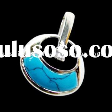 High quality 925 sterling silver turquoise jewelry