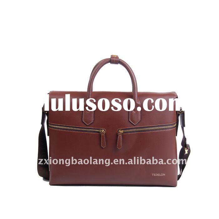 High quality Genuine Leather Laptop Bag