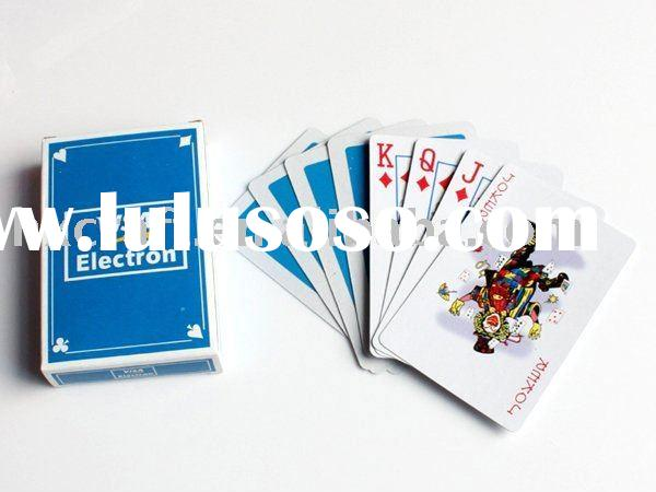 High quality custom logo printed playing card
