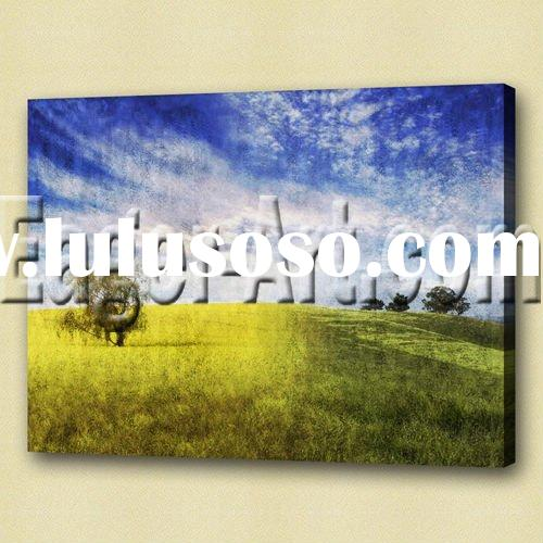 High quality new zealand landscape painting themes