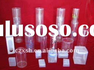 High-quality plastic tube for the gift packing