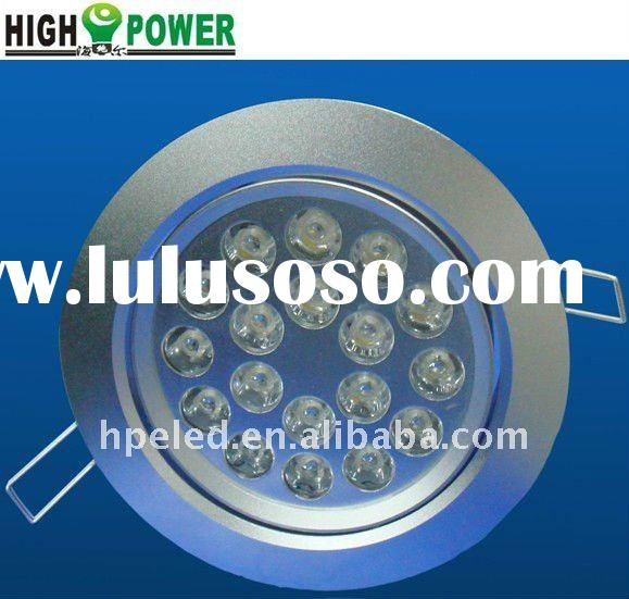 High quality round 18w led downlight hot sell