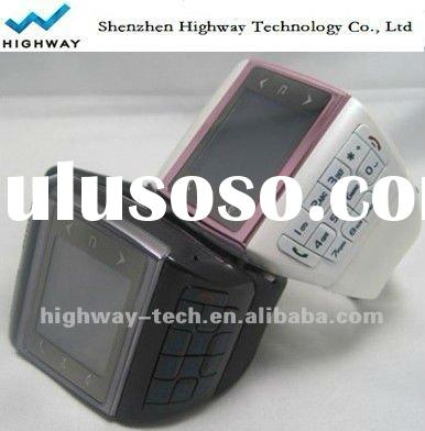 High quality touch screen watch mobile phone