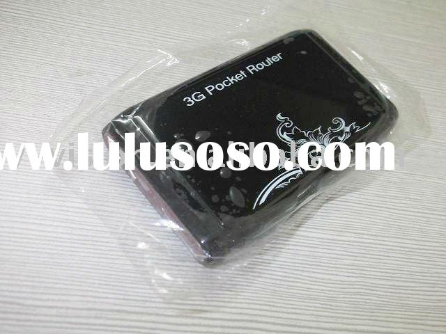 High speed 3g portable wireless router with module inside