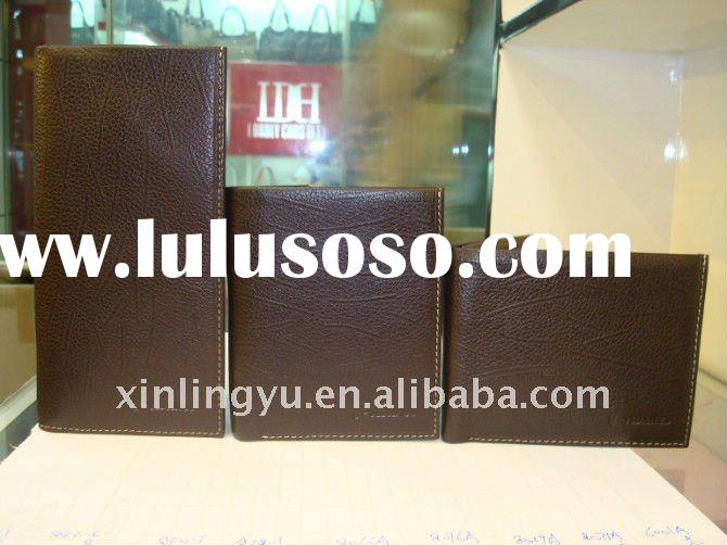 Hot Sale Fashion 100% Genuine Leather Wallet/Purse, Christmas Gift ,High Quality with Competitive Pr