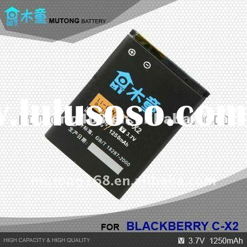 Hot Sale ! High Capacity Li-ion Mobile Phone Blackberry Battery For C-X2
