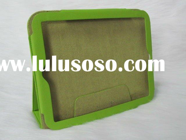 "Hot Selling green Leather Cover Case 9.7"" for HP Touchpad Laptop Computer"