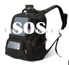 Hot! Solar bag back for laptop or mobile phone