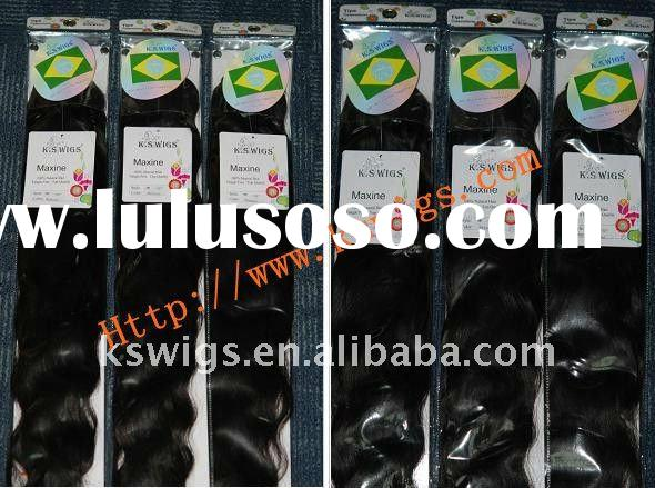 Hot selling!!!~ Brazilian remy human hair with factory price