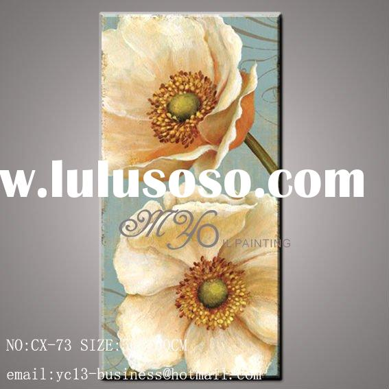 Hot selling still life flower oil painting on canvas