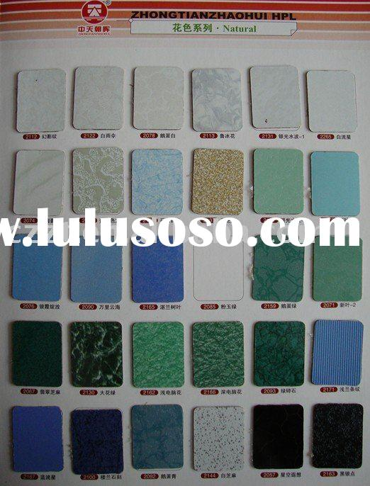 Hpl sheet/Fireproof decorative sheet/hpl panel/Compact HPL laminate