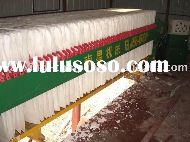 Hydraulic Chamber Filter Press with High Pressure
