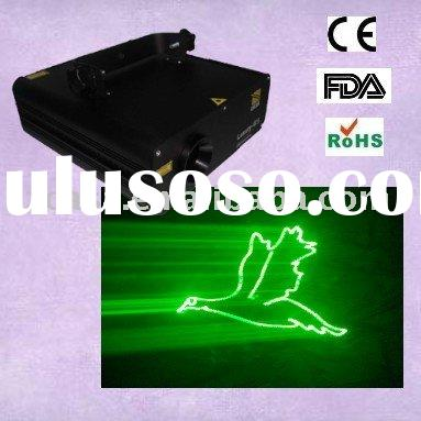 ILDA single green animation laser light