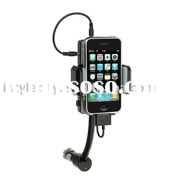 In Car Hi-Fi Hands-free Kit FM Transmitter Charger for iPhone 3G/S