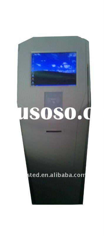 Information queue management system ticket dispenser kiosk EM800