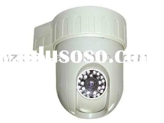 Infrared Pan/Tilt Dome Security Camera