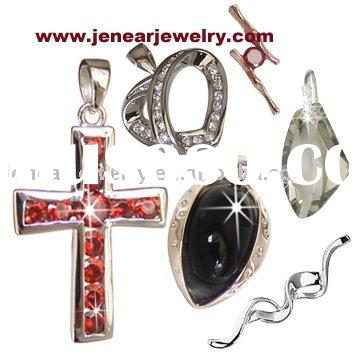 Jewellery high quality fashion silver pendant with different designs