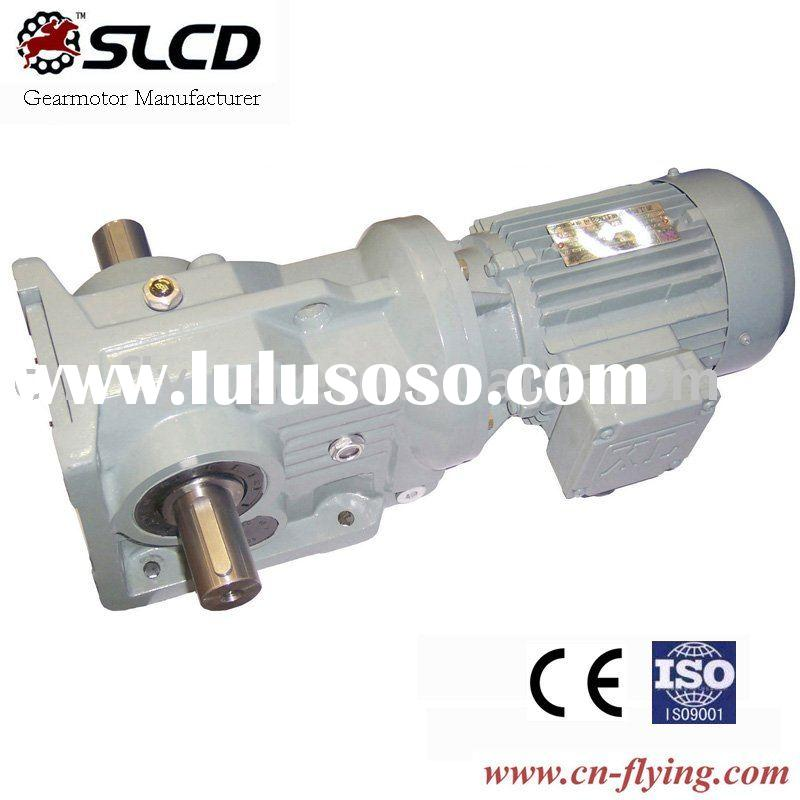 KCW series right angle shaft helical geared motors