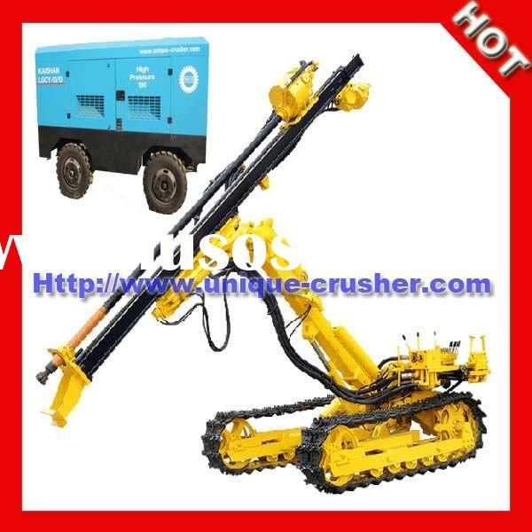 KY120 Rock Drilling Rig with Air Compressor