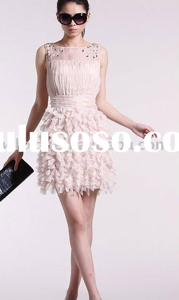 Ladies fashion clothing dress 2012