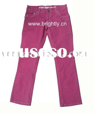 Ladies stretch cotton skinny jeans