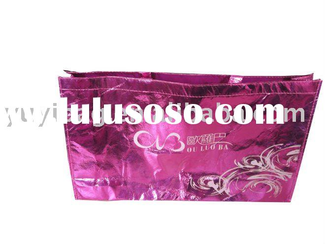 Laser nnon-woven tote bags for gifts