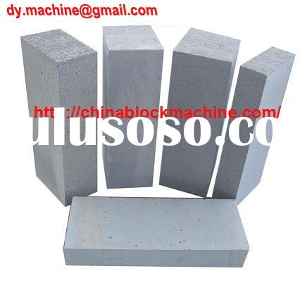 Light weight block aerated brick Manufacturing Plant AAC plant