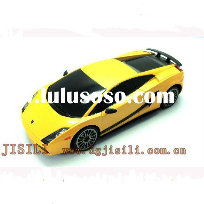 Lisenced high quality 1:24 rc car model 4ch yellow color
