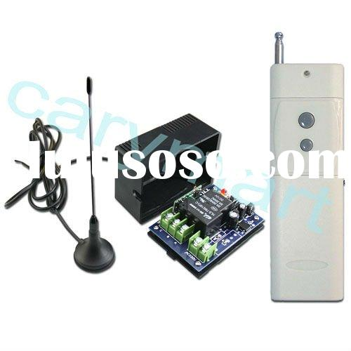 Long Range High Power 20A 1CH 12V Wireless Universal Remote Control Radio Frequency ON OFF Switch 3