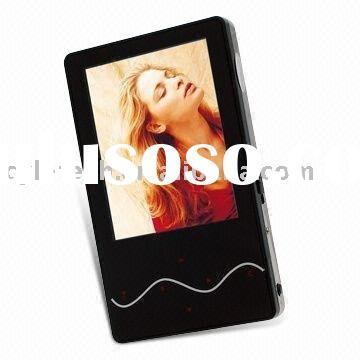 MP3/MP4 Players with 2.4-inch TFT LCD Panel and Audio Playback Functions