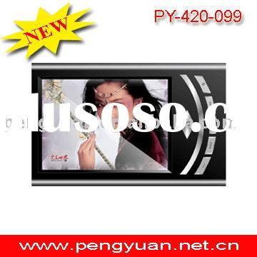 MP4 Players PY-420-099 2.4 inch TFT Screen support mini sd card 1.3M pixels camera