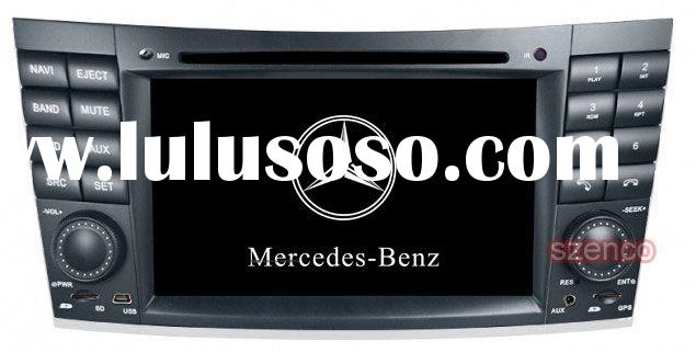 Mercedes Benz E-Class W211 class car dvd player with gps navigation stereo system