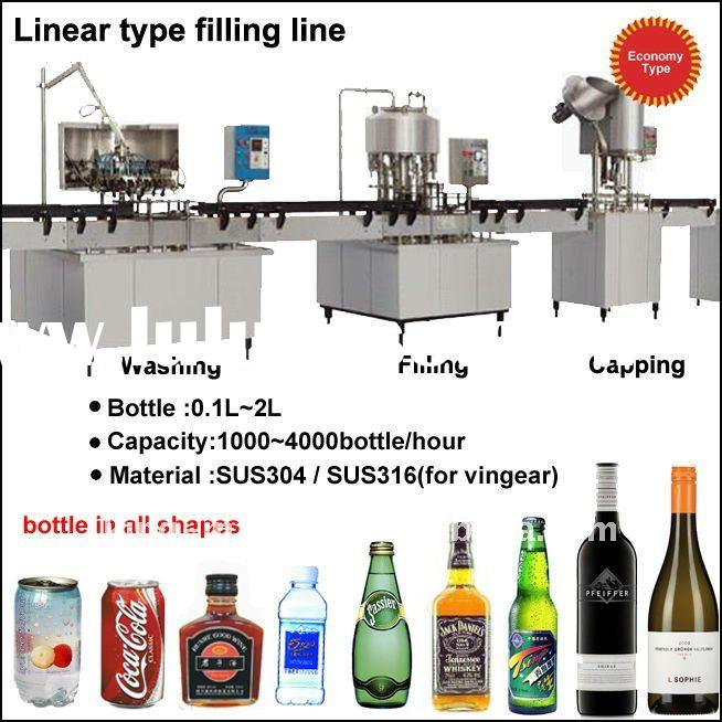Mineral/Pure Water Bottle Filling Machine/Line