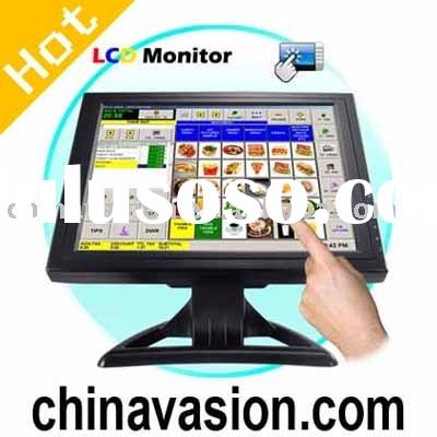 Monitor, 15 Inch Touchscreen TFT LCD Monitor with VGA
